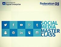 Social Media Masterclass Banner