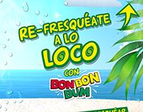 Lanzamiento nuevo sabor de Bon Bon Bum LIMONADA DE COCO