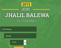 Redesign of tafawabalewa.com political website