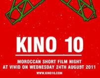 KINO 10 Poster Design