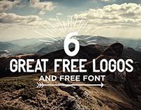 Free 6 logo vintage