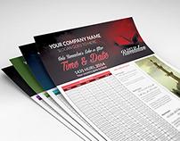 Ramadan Date & Time Flyer