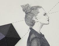 Mujer y geometría  1