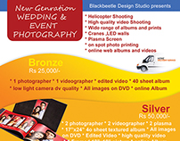 Pamphlet Design -Event Photography