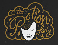 'The Potion Lady' brand identity