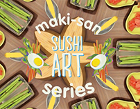 Maki-san Sushi Art