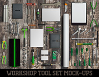 Workshop Tool Set Mock-Ups