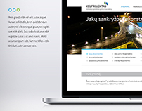 KELPROJEKTAS Company website.