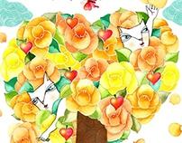CGV 'I GREEN IT' Illustration