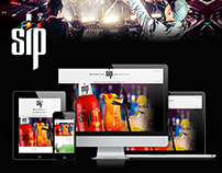 SIP drinks launching into the market website.