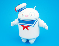 Stay Puft Android