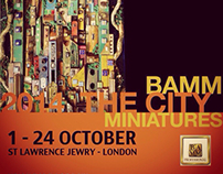 BAMM miniatures mosaic exhibition