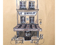 Café Sketch