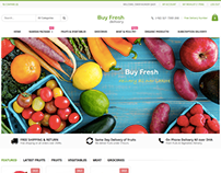 Buy Fresh - Fruits, Vegetables Delivery Service - Ecomm