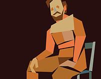Nude Geometric Portraits