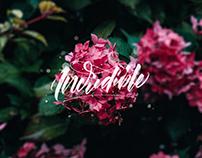 Instagram Floral Lettering - Summer 2017