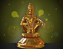 Ayyappaswami 3d model