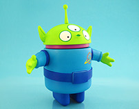 Space Alien Android