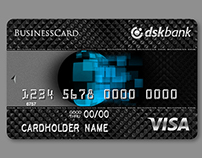 DSK Bank Business Cards