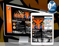 IFK Kristianstad handball - Website Design