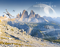 Star Wars Dolomites