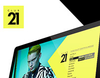 Club 21 Website