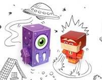 Coleção Fiat Paper Toys