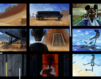 Storyboard showreel