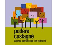 PODERE CASTAGNE' - LOGO