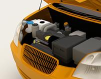 Infografia_vehículo  perfectas condiciones