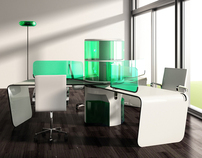 Green-tab/office furniture