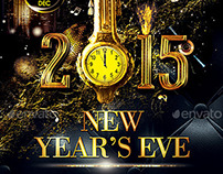 Deluxe New Year Poster | Flyer