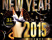 2015 New Year Poster | Flyer
