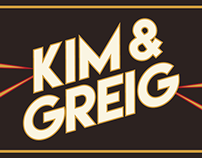 Kim & Greig Wedding Invite