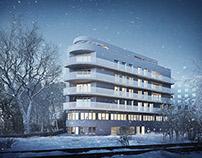 Weisser Turm - Architectural Rendering
