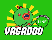LINE | VAGADOO BOY Sticker Pack!