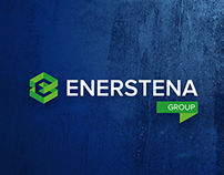 ENERSTENA Group logotype design.