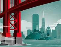 Skyline of San Fransisco