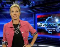 Virtual Set (4pm Newscast - KFOR)