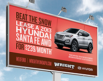Wright Automotive Billboards