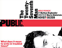 The Public Theater: Web Banner