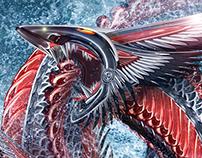 """Briny Deep Dragon"" Artwork"