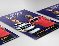 Branding Refresh and Graphic Design For Coventry RFC.
