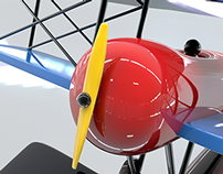 3D Toy Plane !