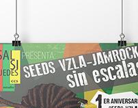 Afiche Aniversario Seeds Vzla