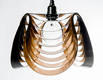 THREE pendant light - Brass / Black