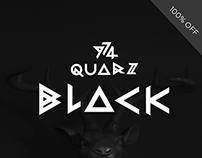 Quarz 974 Black | Free Font