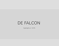 DE FALCON highlights in 14/15