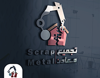 #logo_design #scrap_metal_logo #branding