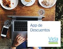 Diseño para App de Descuentos / App UI Desing